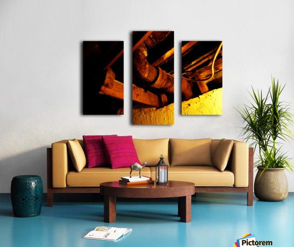 H (1) Canvas print