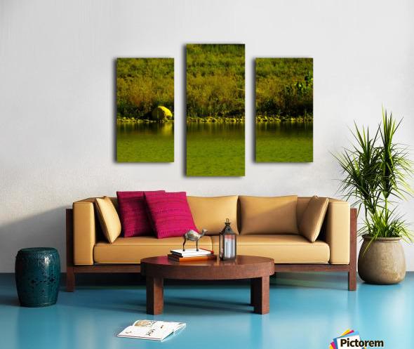 H (4) Canvas print