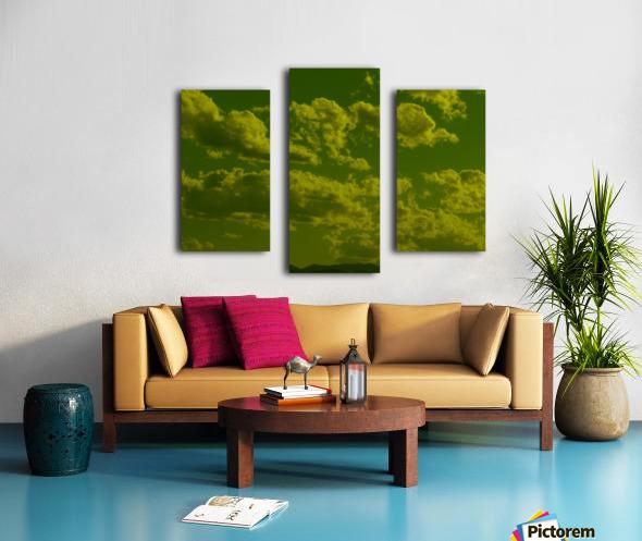 H (8) Canvas print