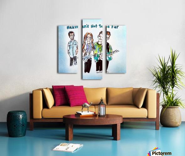 We Three - AGT 2018 Canvas print