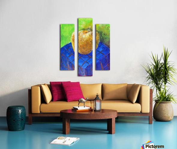 08.APPLE2014year oil on canvas 30X40 cm1500$ Canvas print