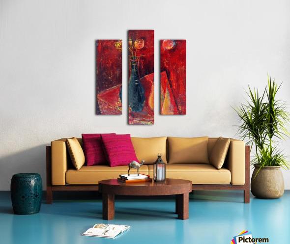 15.PEARS2014year oil on canvas 45x55 cm2500$ Canvas print