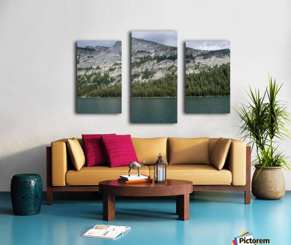 tenaya mountain Canvas print