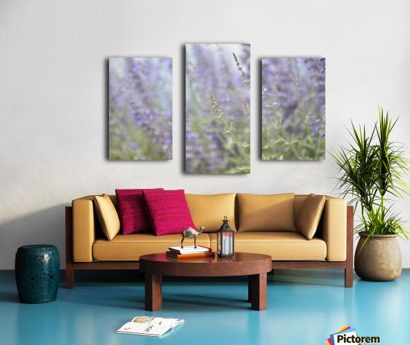 Soft Blue Spring Blossoms Photograph Canvas print