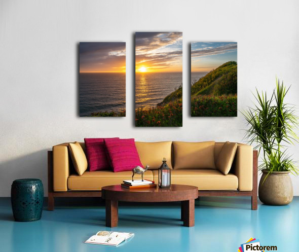 Glorious Light Canvas print
