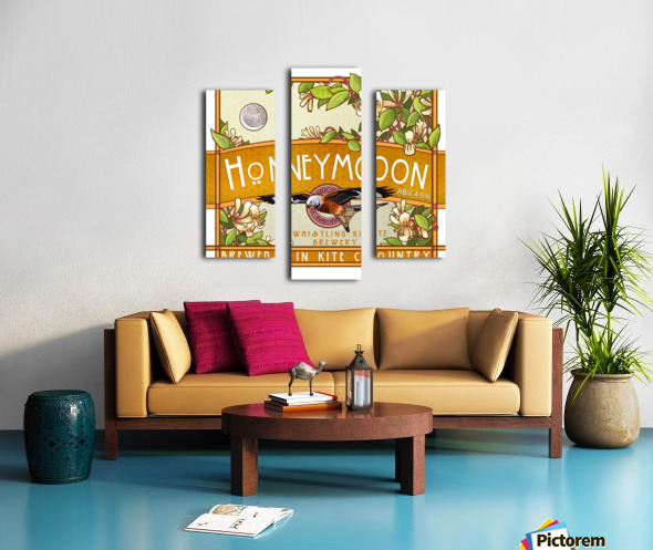 Whistling Kite Brewery: Honeymoon Canvas print