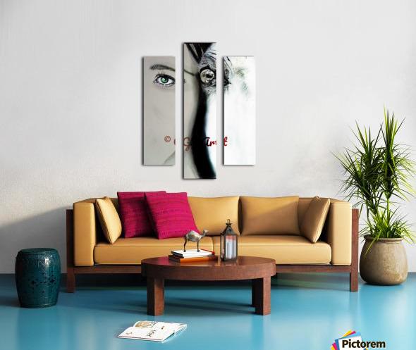 Reflection 2 Canvas print