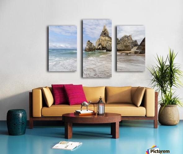 Praia da Ursa Canvas print