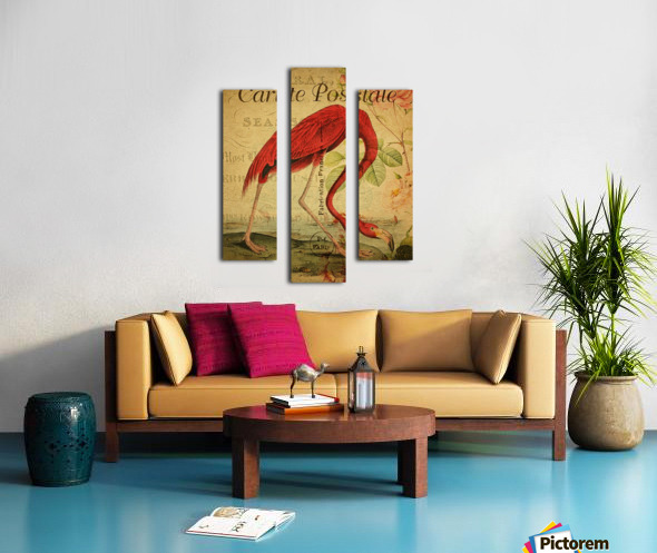 Beautiful Flamingo_OSG Canvas print
