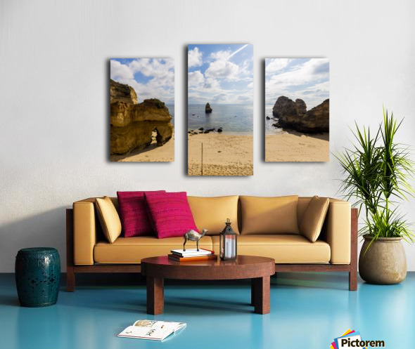 Praia do Camilo Canvas print