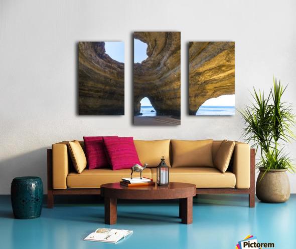 Benagil cave Canvas print