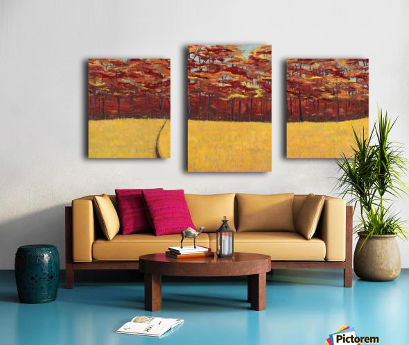 Dreams of Autumn Canvas print