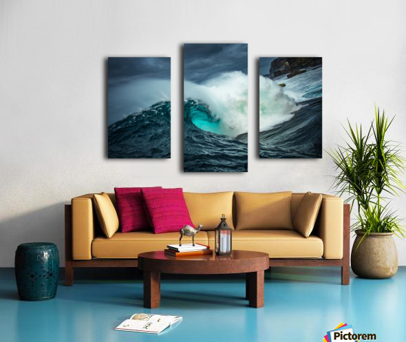 Dramatic Shippies Canvas print