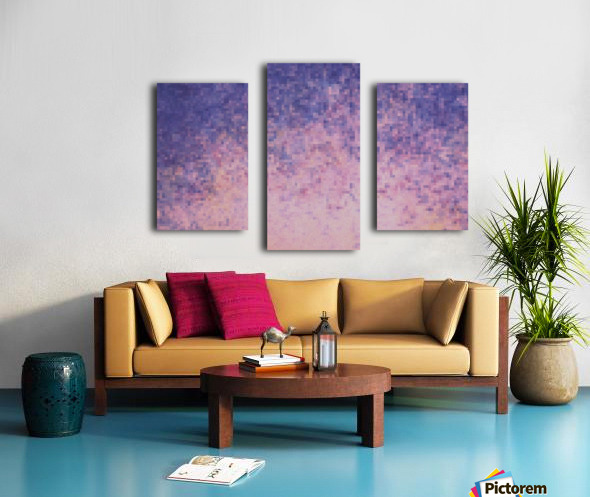 Dream violet Canvas print