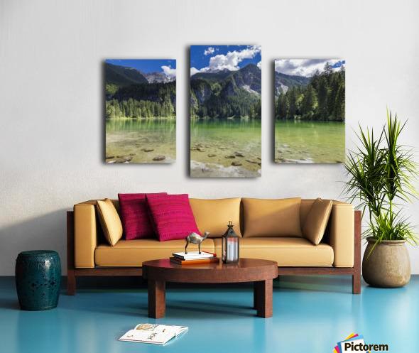 Lake of Tovel Canvas print