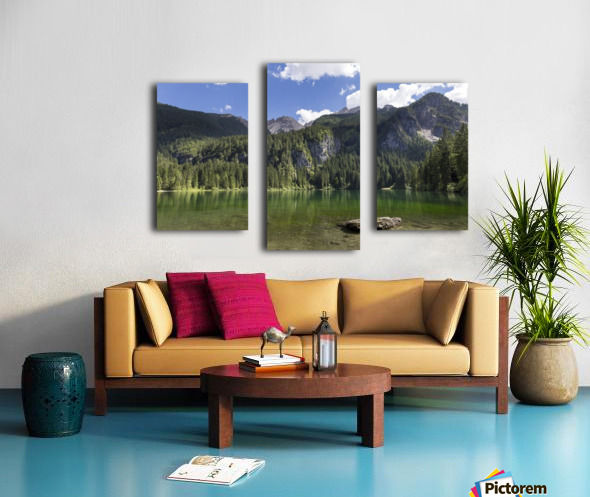 Lake of Tovel Canvas print