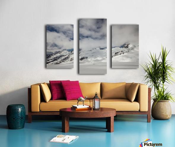 Clouds Crashing Canvas print