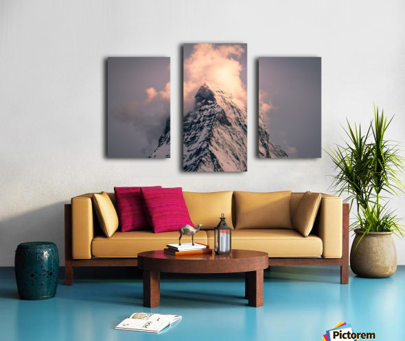 Matterhorn Glow Canvas print