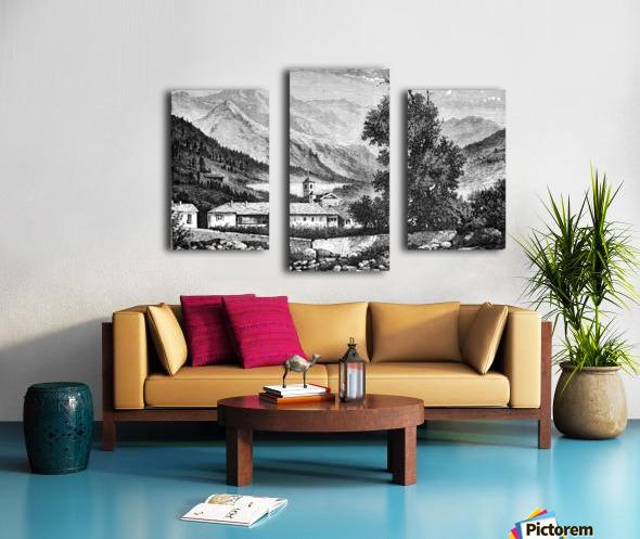 Bardonecchia View_OSG Canvas print