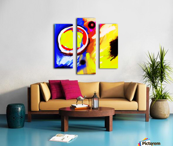 Abstract Mess_OSG  Canvas print