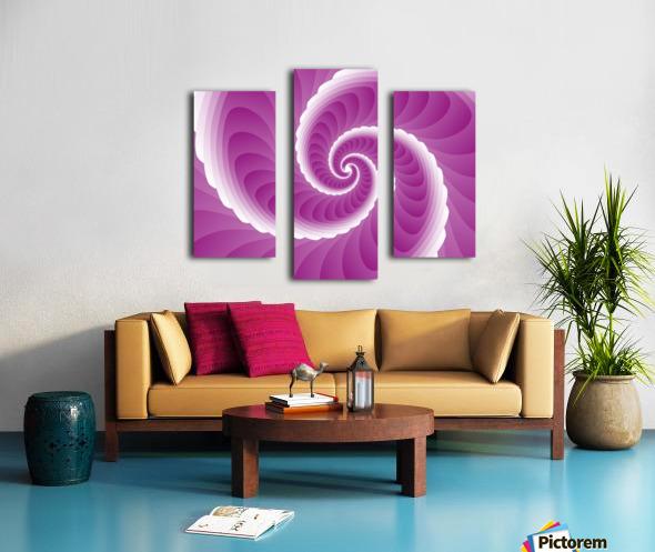Pinky Art Canvas print