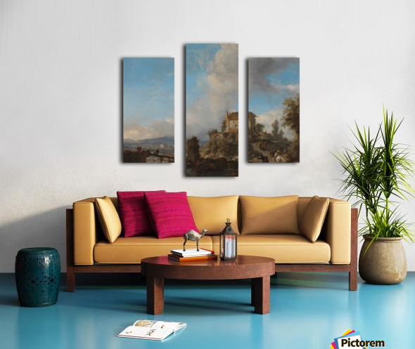 Hertenjacht Rijksmuseum Canvas print