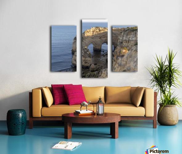 Praia de Marinha Canvas print