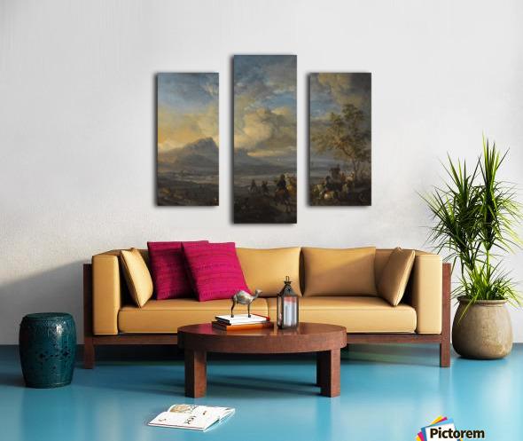 Reigerjacht Canvas print