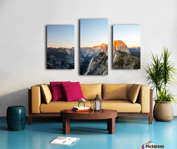 Separated Canvas print