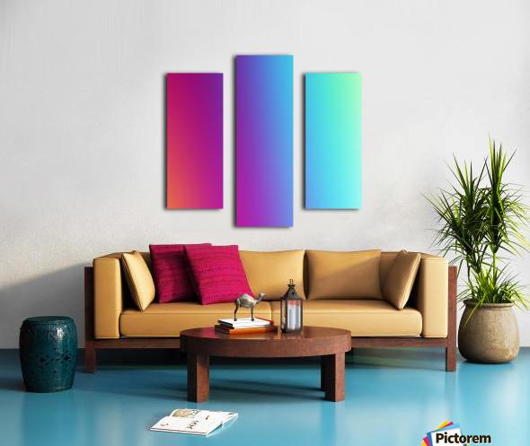 Multicolor Background Canvas print