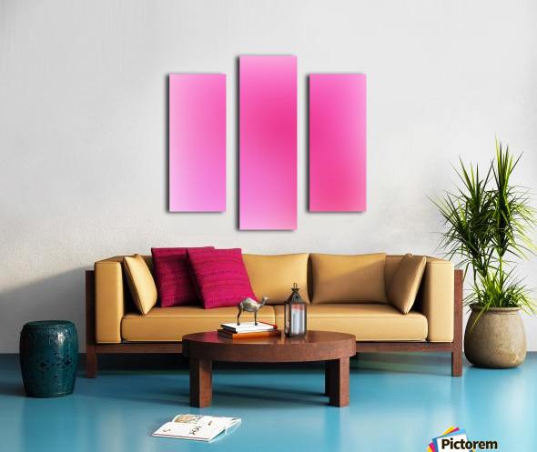 Rose Gradient Background Canvas print