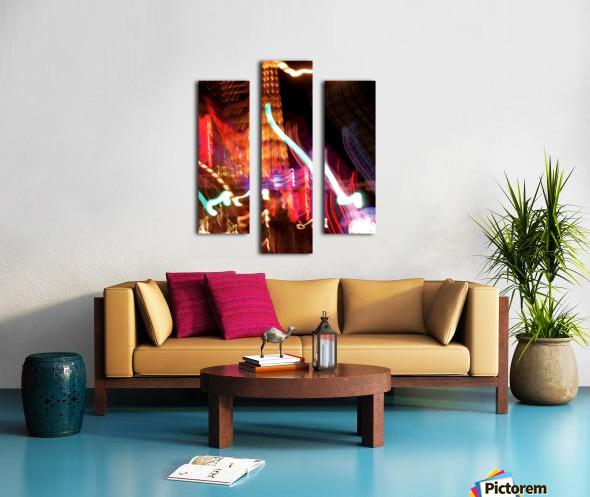 Dancing Light Canvas print