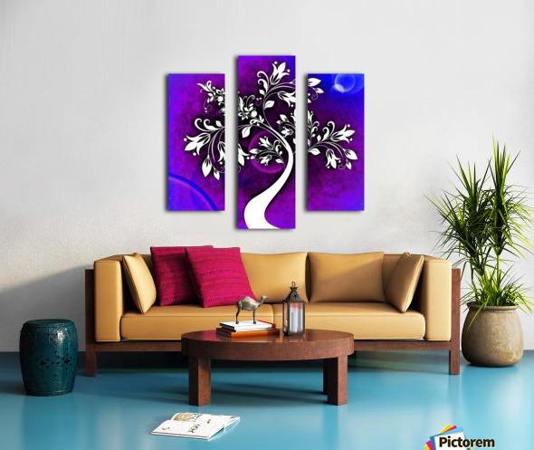 FLOWER TREE 05_OSG Canvas print