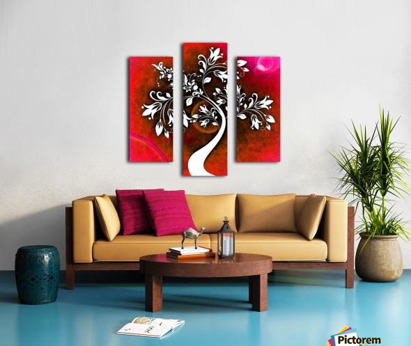 FLOWER TREE 03_OSG Canvas print