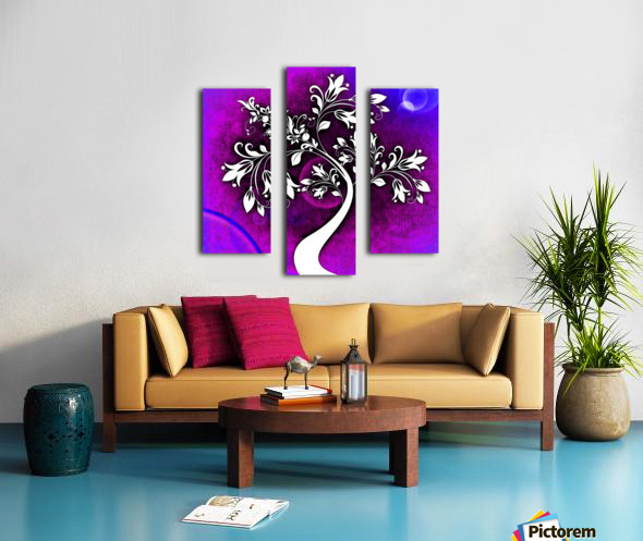 FLOWER TREE 01_OSG Canvas print
