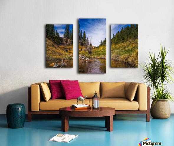 BluffSprings Canvas print