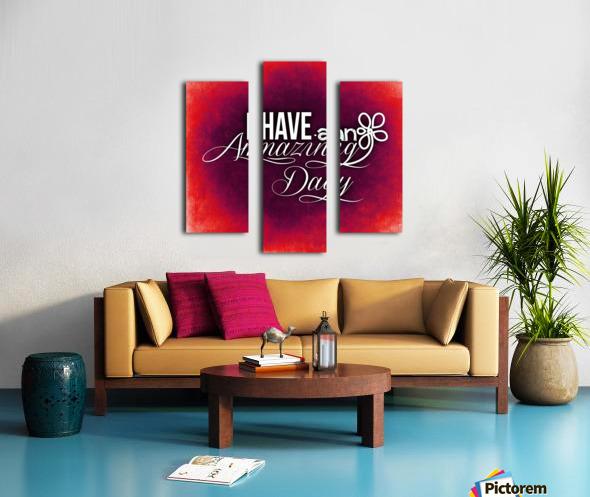 AMAZING DAY 05_OSG Canvas print