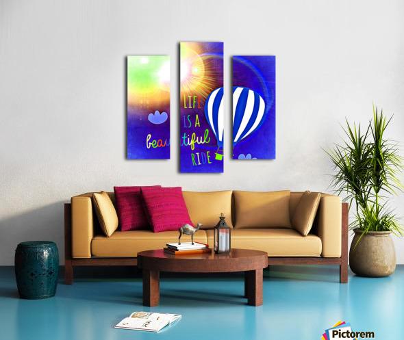 Beautiful Life 03_OSG Canvas print