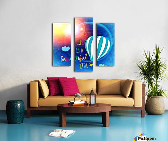 Beautiful Life 01_OSG Impression sur toile