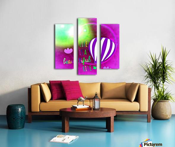 Beautiful Life 05_OSG Canvas print