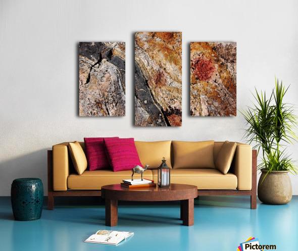 Colors Of Rock Canvas print