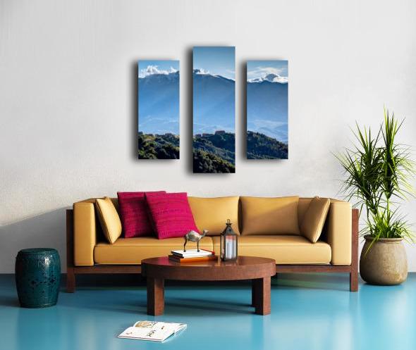 Corsica Canvas print