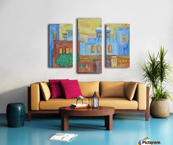 ahson qazicityscape Canvas print