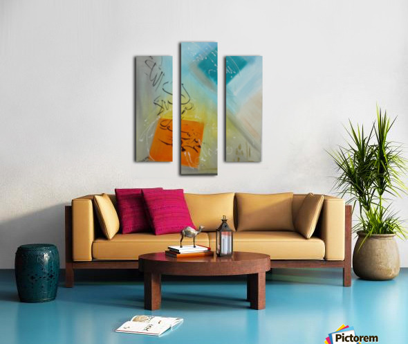 ahson qazikalmacalligraphy Canvas print