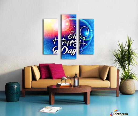 Happy Day_OSG Canvas print