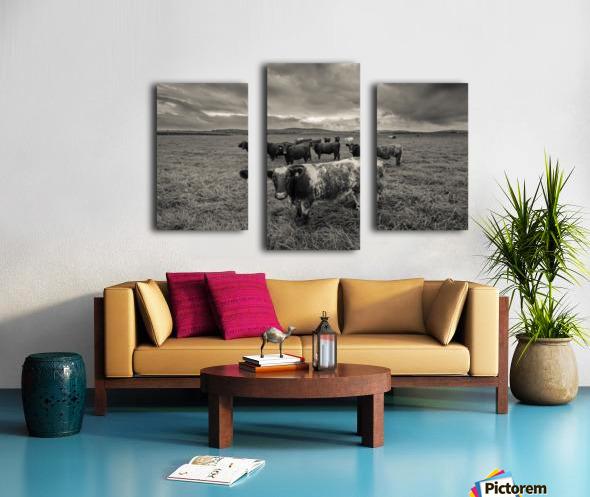 Cowscape Canvas print