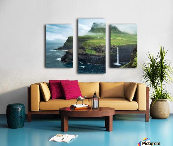 Múlafossur Waterfall Canvas print