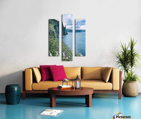 Trøllkonufingur Canvas print