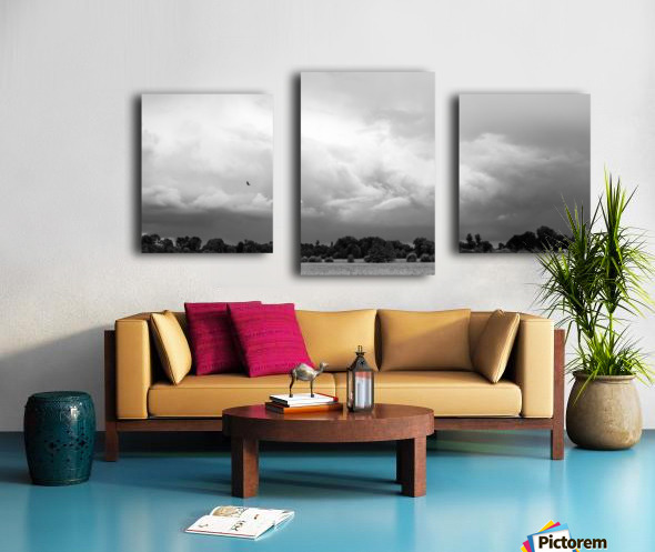 Merton Field Impression sur toile