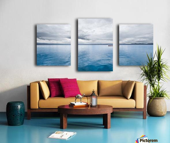 Lac Évian Impression sur toile
